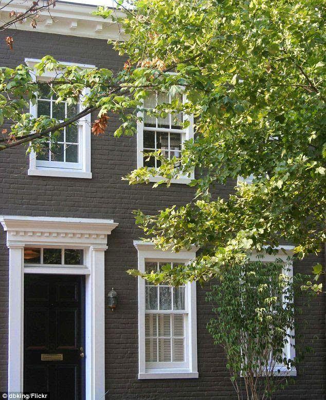 Painted Brick Home Curb Appeal Georgetown