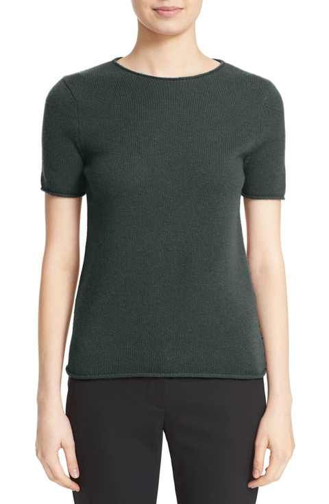 cc3d431a9ff Theory 'Tolleree' Short Sleeve Cashmere Pullover | cashmere ...