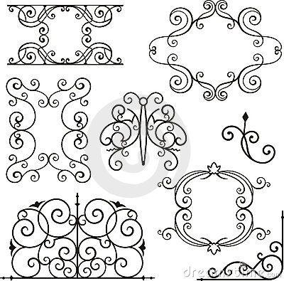 Wrough Iron Ornaments Wrought Iron Design Wrought Iron Iron Art