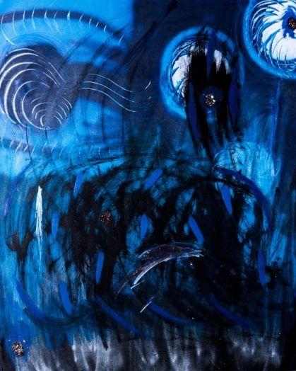 Gemälde - die Dämonen die ich rief