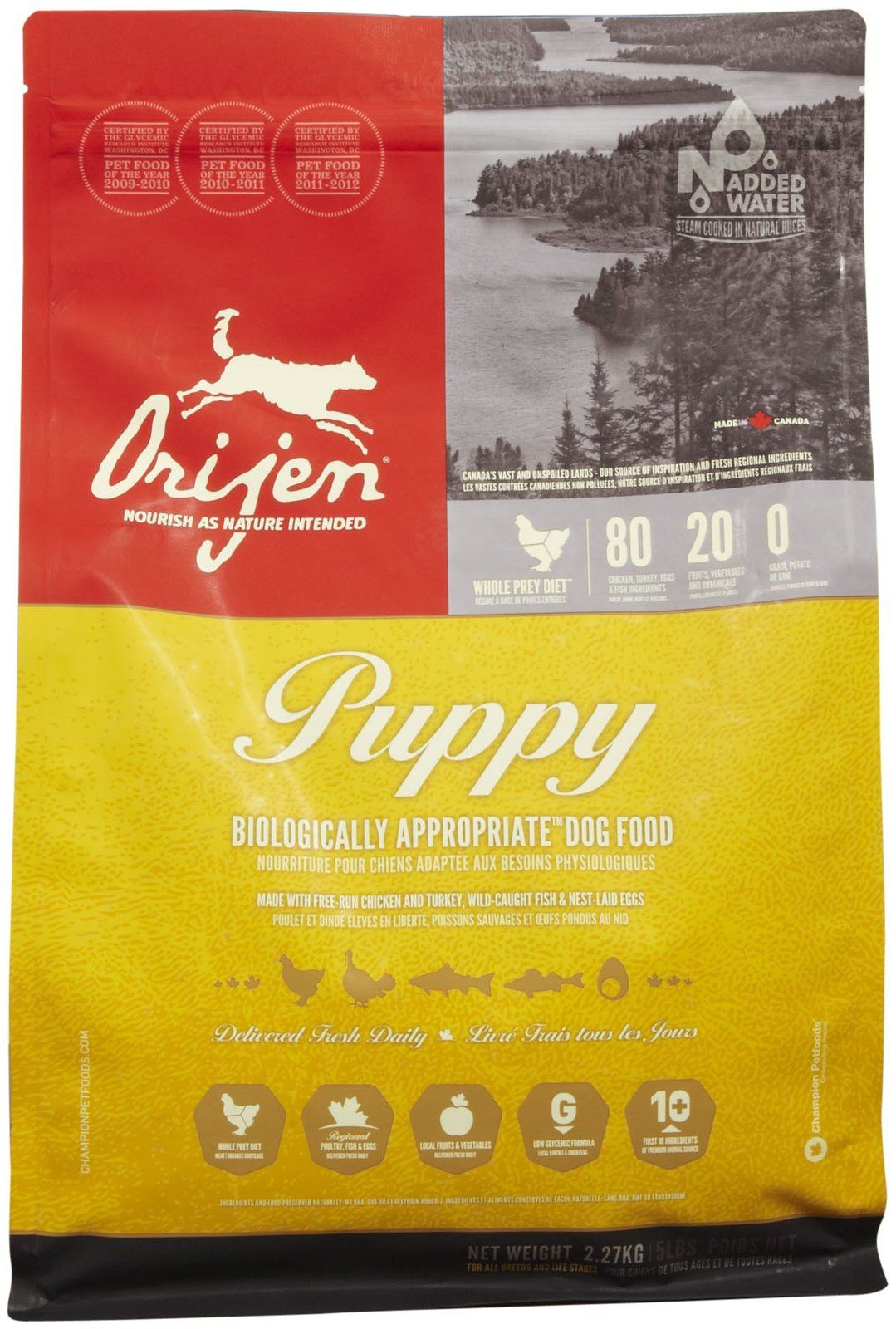 Orijen Puppy Food Best Dog Food Dog Food Recipes Puppy Food