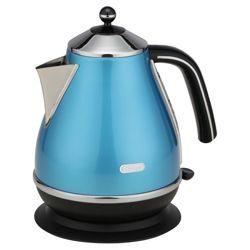 buy delonghi kbo3001b 3kw 1 7 litre pf icona kettle azure. Black Bedroom Furniture Sets. Home Design Ideas