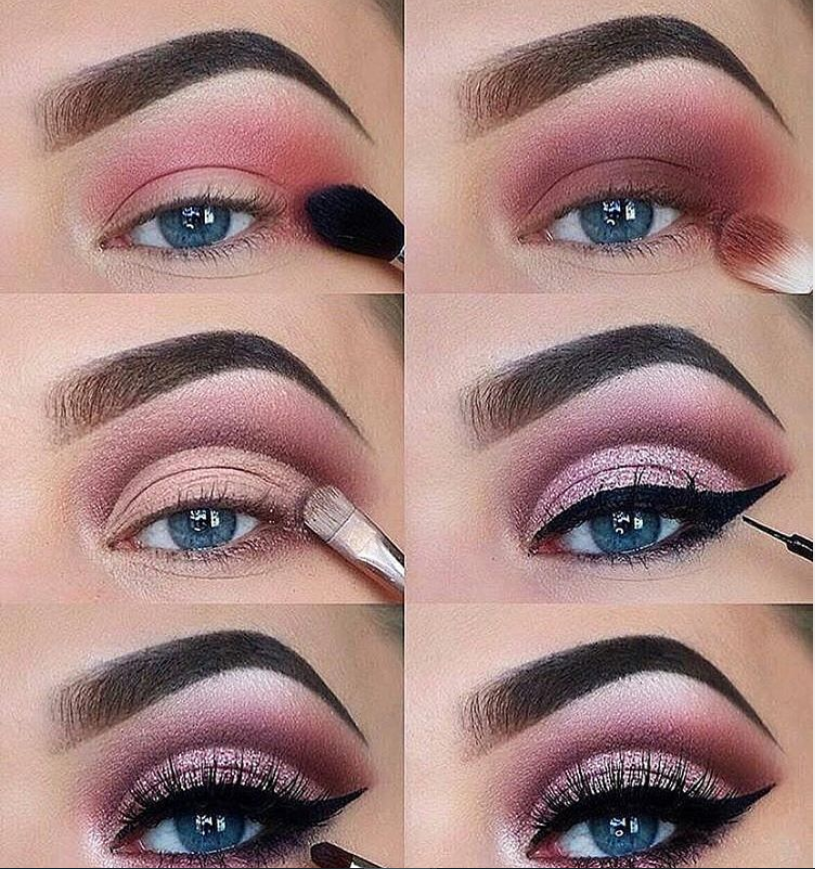 60 Easy Eye Makeup Tutorial For Beginners Step By Step Ideas(Eyebrow& Eyeshadow) – Page 24 of 61 – Latest Fashion Trends For Woman