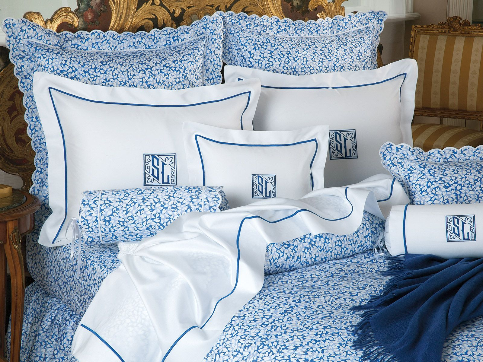 Petals - Luxury Bedding Breezy white #petals dapple a vibrant ...