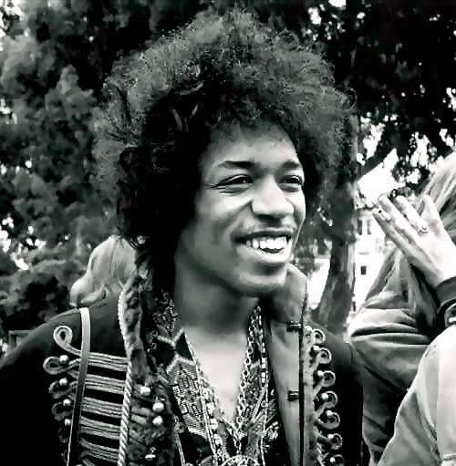 Jimi Hendrix was among the most recognizable black men with long hair