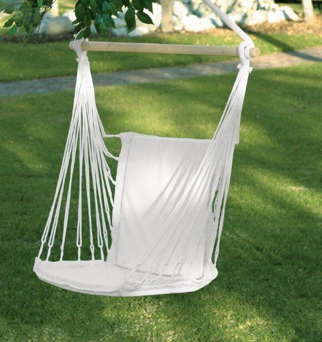 padded chair with swing hammocks cotton images pinterest stand on distinctivemerc espresso indoor swings chairs hanging hammock and best garden