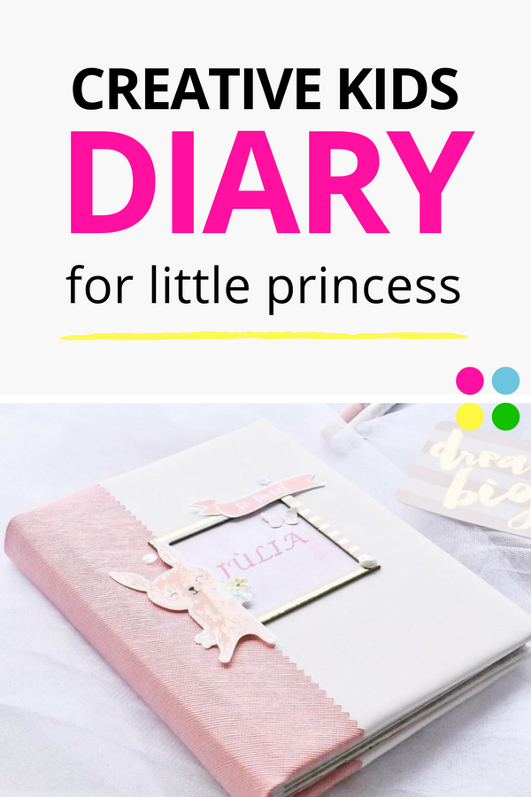 Handmade Notebook Beautiful Diary For Teen Girls Gifts Ideas Pink