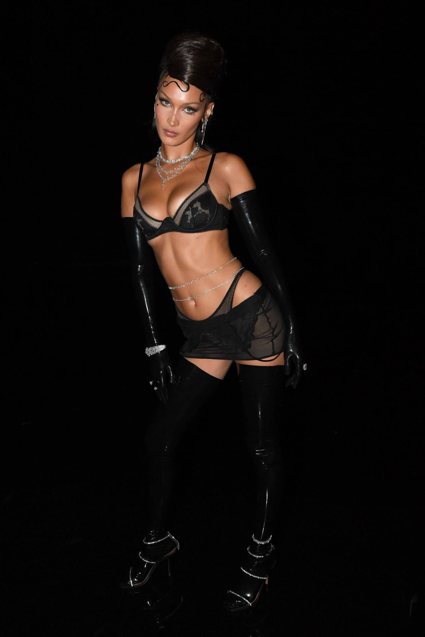 Bella Hadid Rihannas Savage X Fenty Show Vol 2 In La Bella Hadid Savage X Fenty Hadid