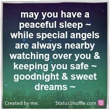 May God Dispatch His Angels To Watch Over You And Your Family Good