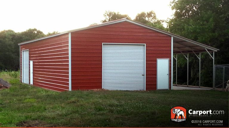 Custom Valley Barn at 30' Wide x 31' Long x 9' High Shed