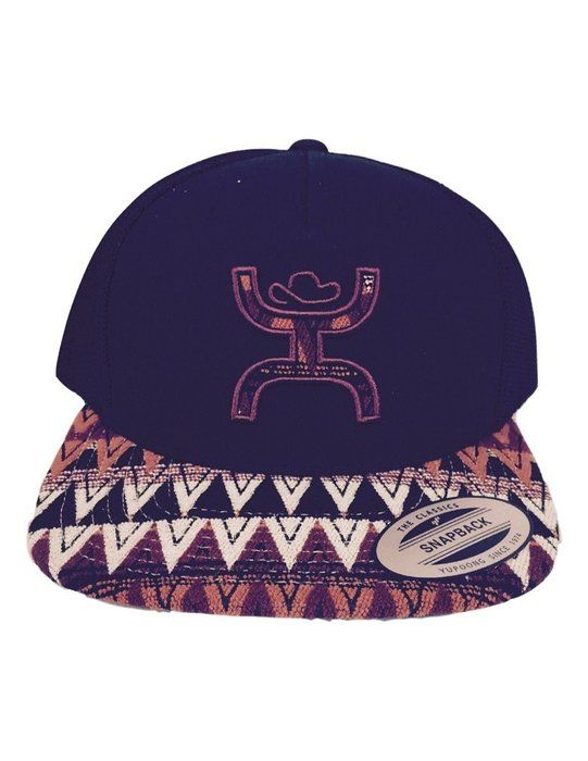 Hooey Hat Pyramid Trucker Hat Aztec Black Men S