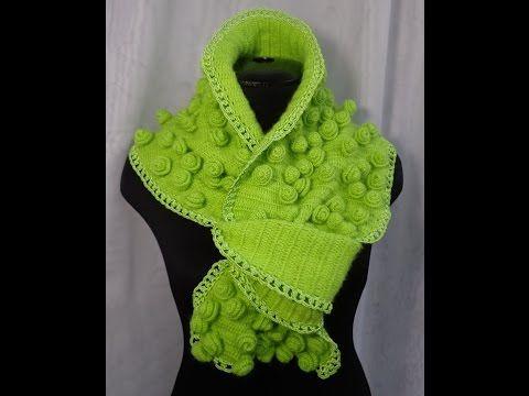 как связать шарф розыпроцесс вязания крючкомурок вязания