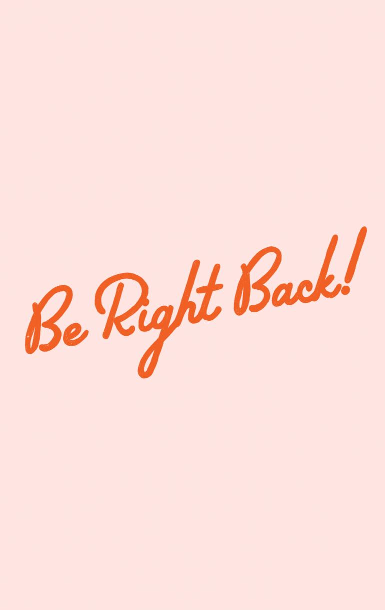 Be Right Back Social Media Quotes Breakup Social Media Detox
