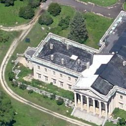 Horace Trumbauer Lynnewood Hall Elkins Park Pa United States Satellite View Abandoned