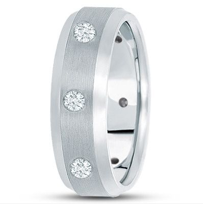 Unique Settings of New York Wedding Band
