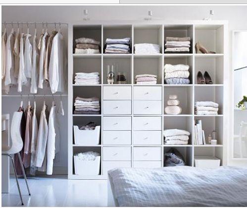 dressing dans une chambre des id es pour s 39 inspirer d coration chambre ikea closet ikea. Black Bedroom Furniture Sets. Home Design Ideas