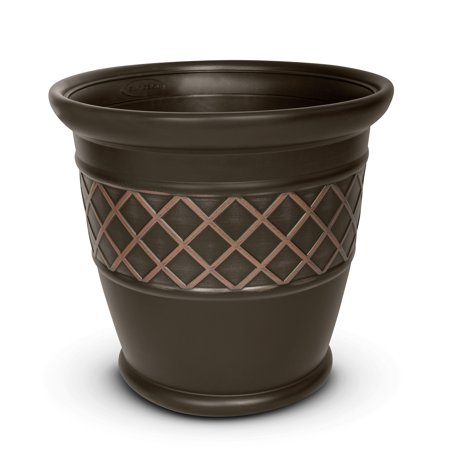 27f6df661eaba31abd79841becad304d - Better Homes And Gardens 18 Planter Brown