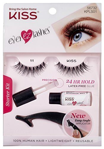 8f0b8ab7dad Kiss I Envy Trio Ultra Black Short 26 Trio Lashes (3 Pack) * You can find  more details by visiting the image link. #beautyandmakeup | False Eyelashes  ...