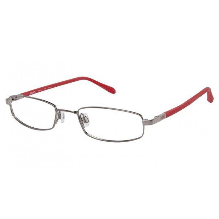 Puma PU 15338 Gray/Clear   Puma Eyeglasses   Pinterest