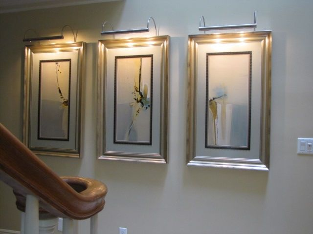 artwork lighting gallery wall lighting
