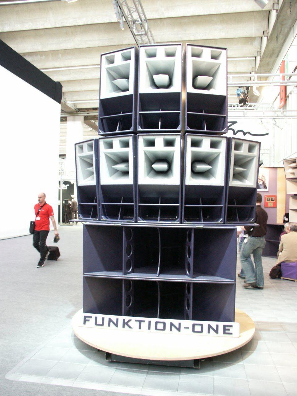 Funktion One Soundsystem Pro Audio In 2019 Pinterest