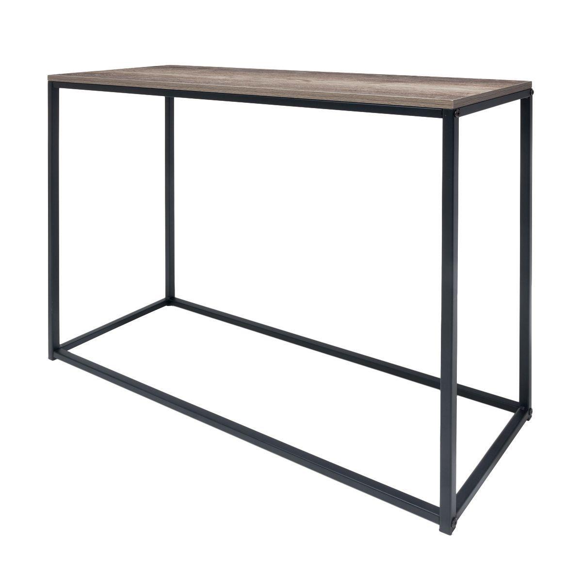 Elegant Industrial Hallway Table