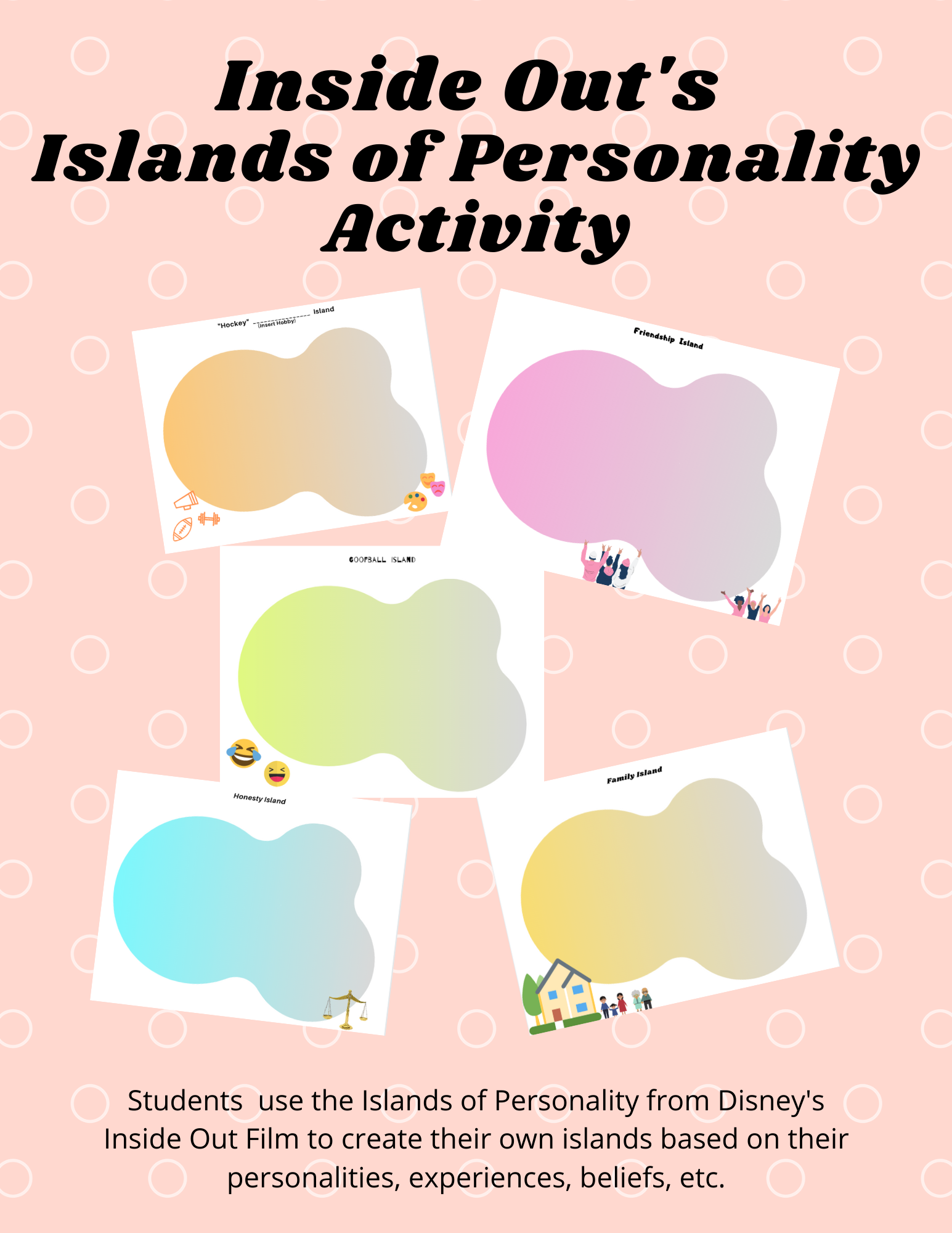 Inside Out S Islands Of Personality Activity Child
