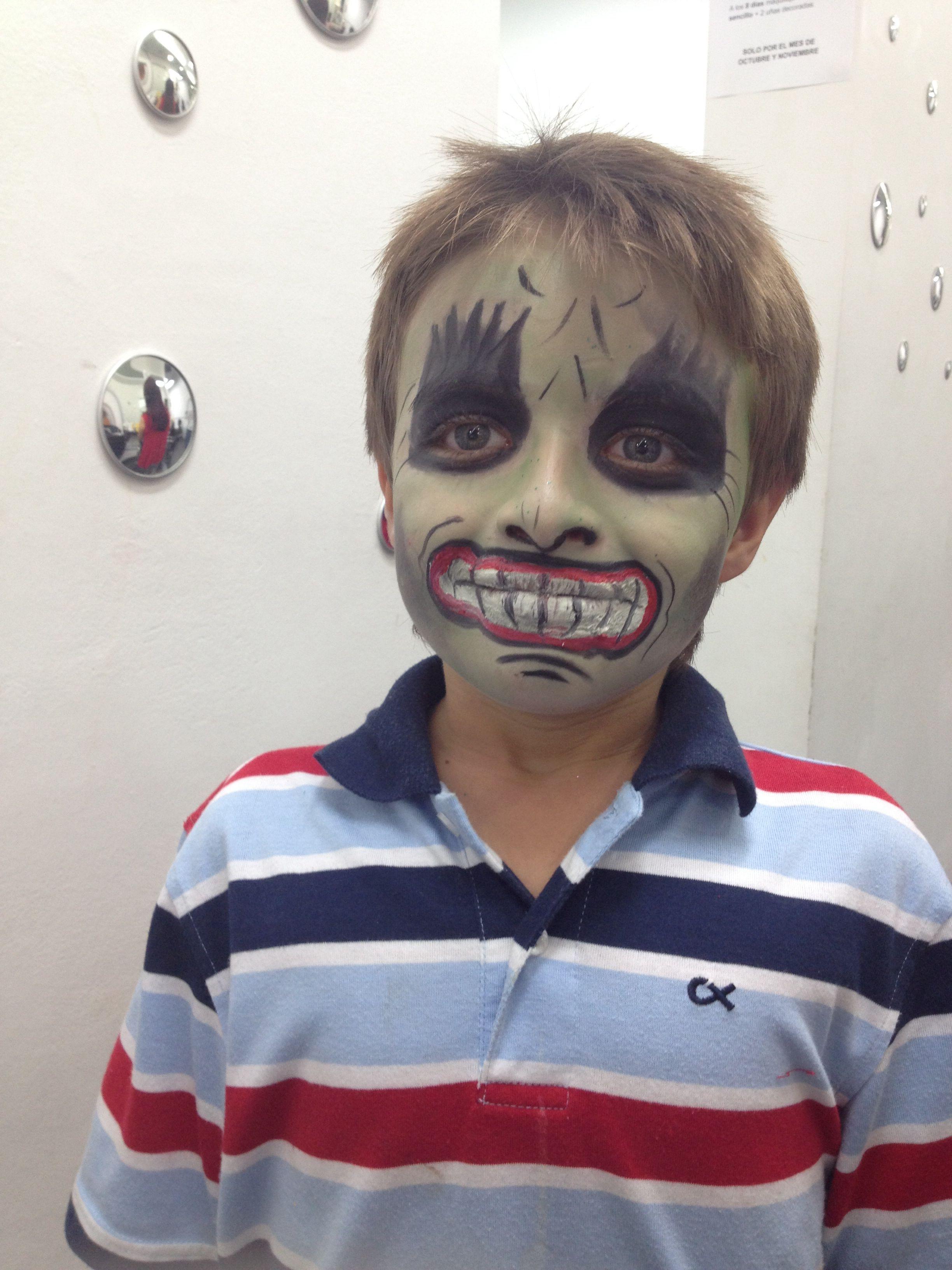 Maquillajes de Halloween para niños y adultos Maquillaje