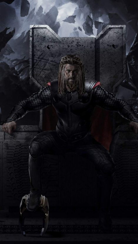 Imagine if thor isolated himself on a and trained