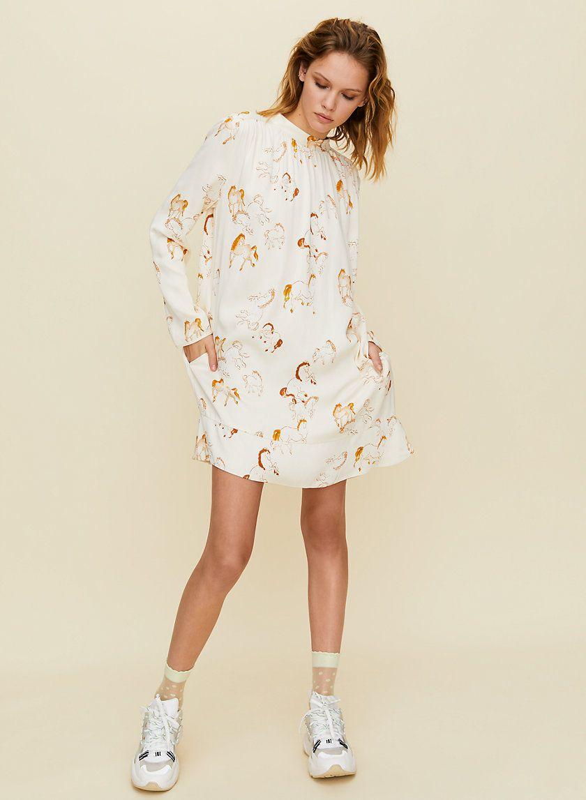 Honeysuckle Dress In 2020 Dresses Long Sleeve Shift Dress Long Sleeve Mini Dress [ 1147 x 840 Pixel ]