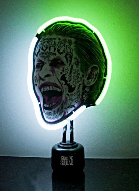 Neon Table Light: Joker, Lighting, Light Table