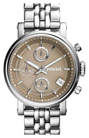 893cd036012 Fossil  Original Boyfriend  Chronograph Bracelet Watch
