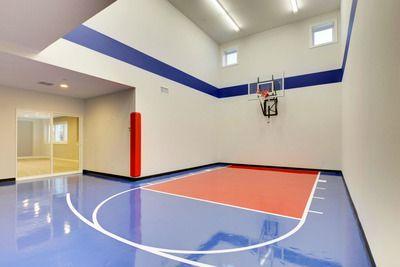 Plan 73368hs 5 Bedroom Dream Home With Indoor Sports Court Indoor Sports Court Dream House House Plans