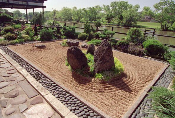 Karesansui Or Japanese Rock Garden