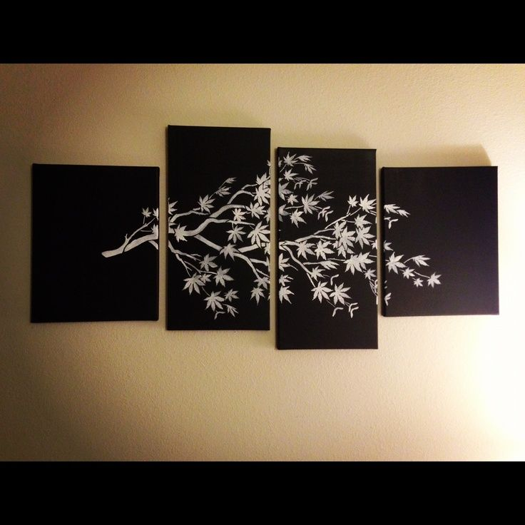 DIY canvas art photos diys Pinterest