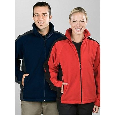 Unisex Bi-Color Fleece Jacket | Christmas ideas | Pinterest