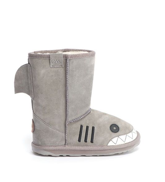 Take a look at this Putty Little Creatures Shark Boot - Kids by EMU  Australia on today!