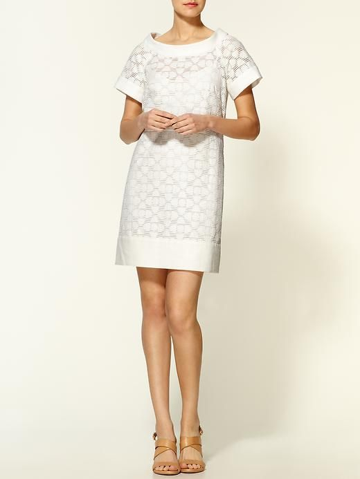 f5e0476d2c milly gabriella white shift dress with stand away collar