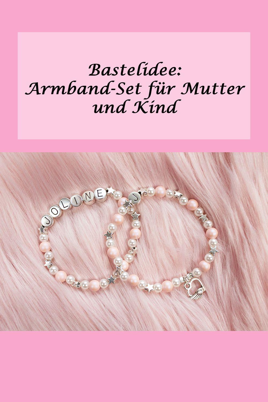 Mutter Kind Armbander Zum Selber Machen Perlenarmbander Basteln Armband Selber Machen Armband Kinder Armband