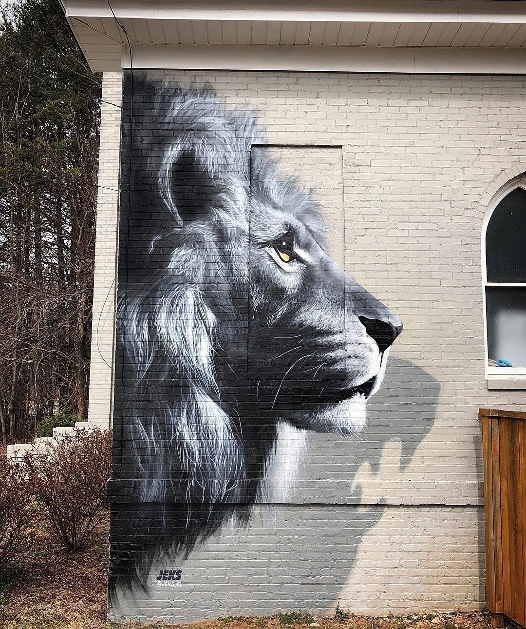 Jeks greensboro nc usa in 2019 street art graffiti
