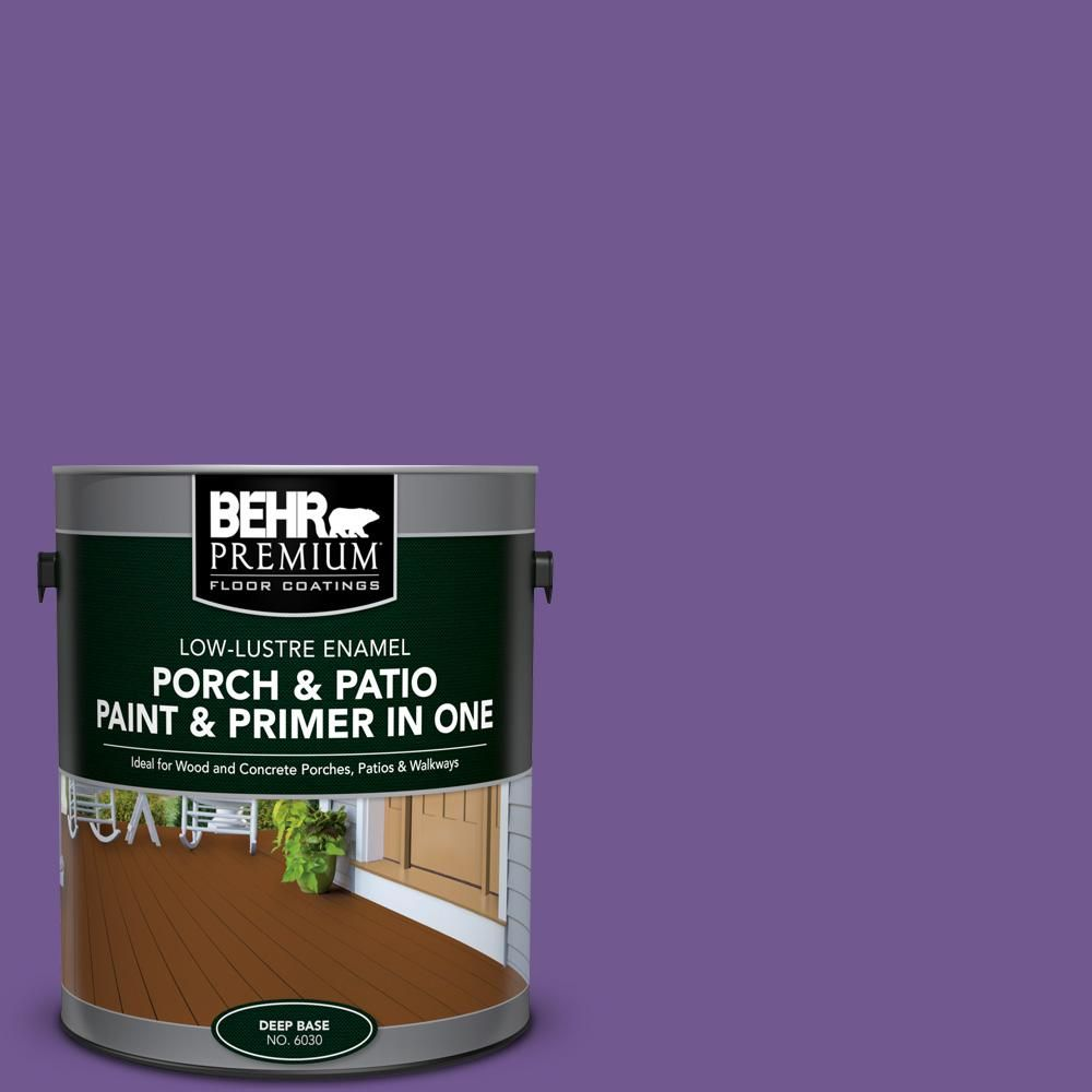 Wonderful Dominant Gray Low Lustre Interior/Exterior Paint And Primer In One Porch  And Patio Floor Paint