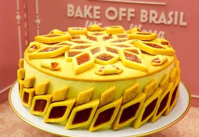 Bake Off Brasil Aprenda A Receita Do Bolo Beliscao Com Imagens