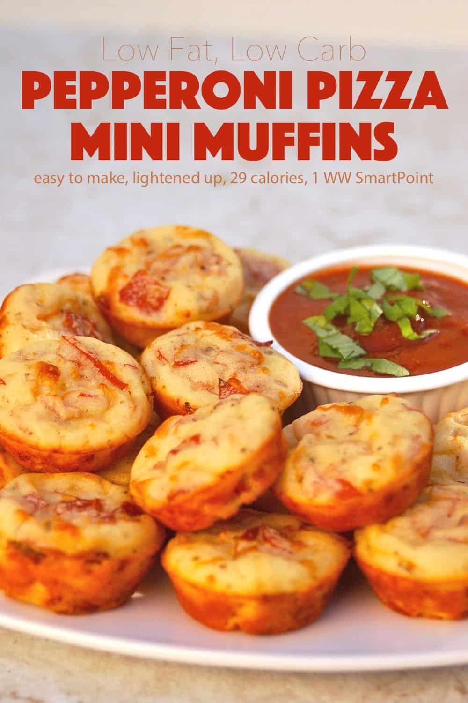 Pepperoni Pizza Mini Muffins Recipe Food Recipes