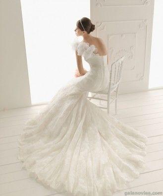 Aire trajes de novia precios