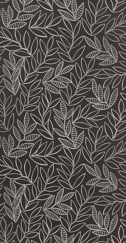 Laurus Ebony in 2020 Funky wallpaper, Pattern wallpaper