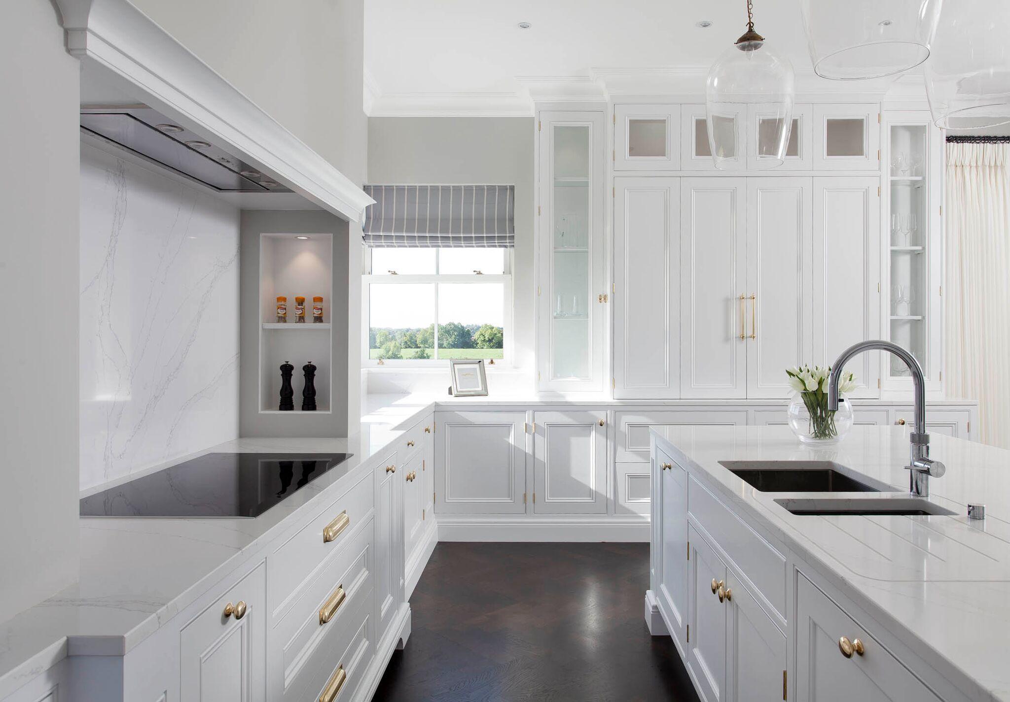Woodale Drumree Handmade kitchen furniture, White