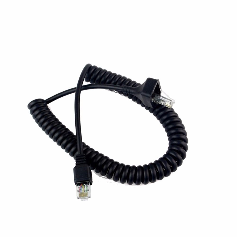 8 Pin Hand Mic Speaker Cable Walkie Talkie Microphone Line For ...