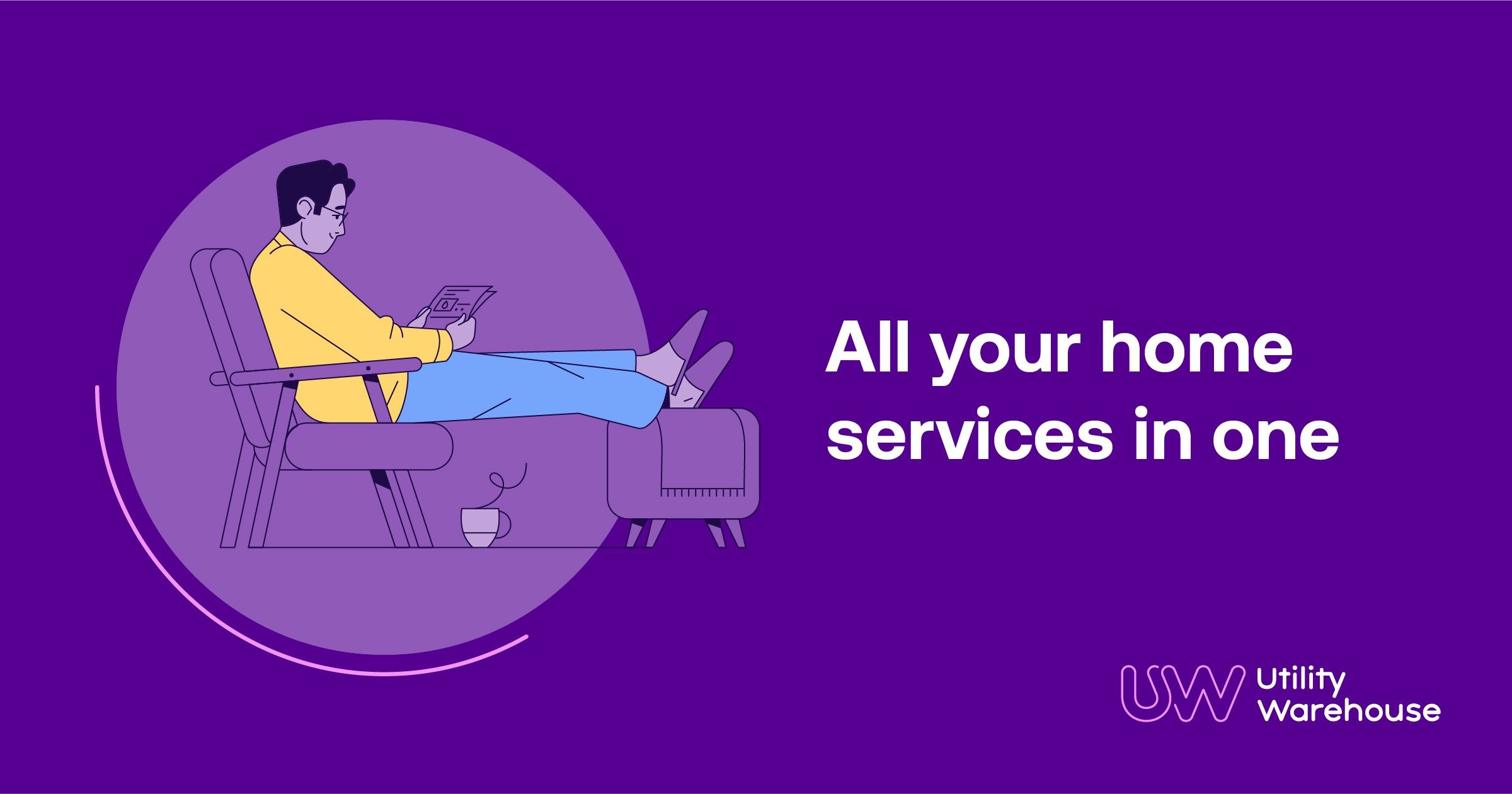 All your utilities all under one roof. One direct debit