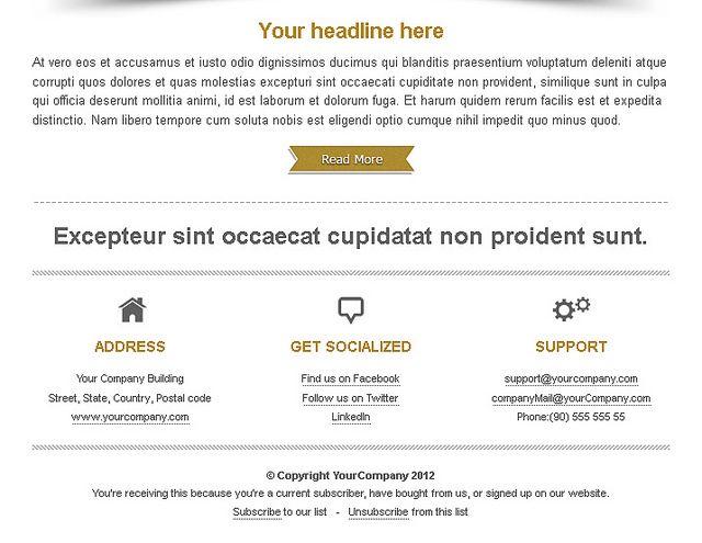 Business premium newsletter...