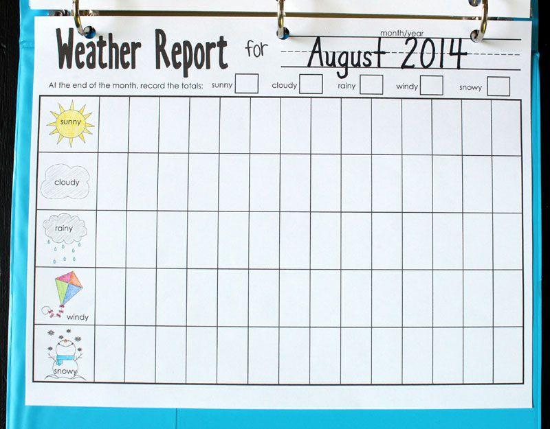 Calendar Kindergarten Zip : Calendar notebook binder printables